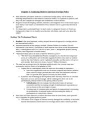 PSCI 115F Ray Chapter 3 Notes