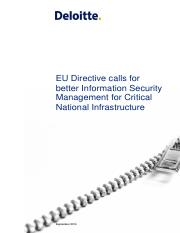 EU Directive calls for better Information Security Management for Critic....pdf