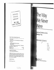 12. Coontz - Selections from _The Way We Never Were_