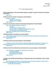 LP 7.1 - Real Property Statutes Business Law 1