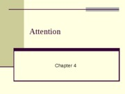 Chapter 4-Attention