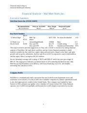 Equity Research-Walmart