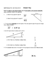 Complement Angles worksheet answer key - 3 & 1 or 2 ...