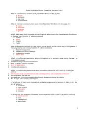 Exam 4 Multiple Choice Questions Sections 3 4.docx
