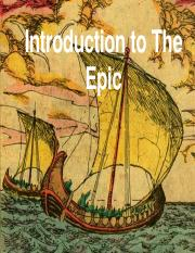 Introduction to The Epic - Teacher Pres.pptx