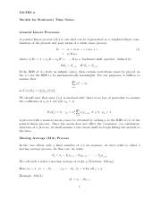 `Notes4_Models for Stationary Time Series_Print