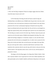 Take Home Essay- MidTerm 2