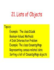 21. Lists of Objects.pdf