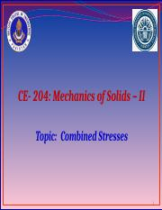 Lec 3 Combined Stress