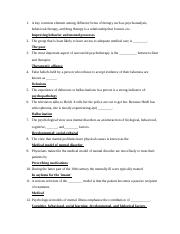 GENERAL PSYCHOLOGY   CHAPTER 12 TEST,FALL, Stems .docx