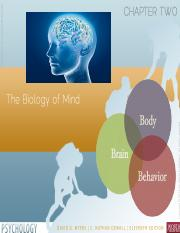 Chp 2 Biology of the Mind