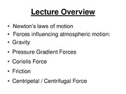 17-Atmospheric Motion(1)