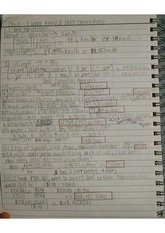 MATH 1301 Complete Notes