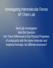 Structural Formulas and Physical Properties.ppt