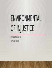 Environmental of injustice.pptx