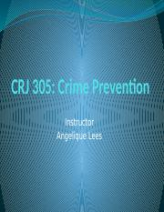 Week_2_PowerPoint CRJ305 Crime Prevention.pptx