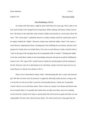 the great gatsby paper
