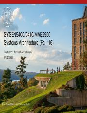 SYSEN5400 - Lecture 5 - Form and physical architecture.pptx