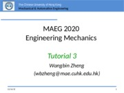 MAEG2020 Tutorial 3