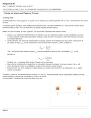 Mastering Physics Assignment #8