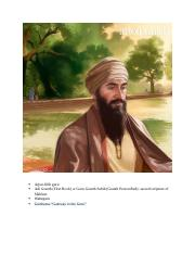 Holy Scriptures & Revelations of Sikhism.docx