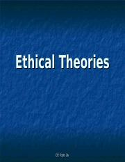 CE Topic 2a - Ethical Theories - Utilitarianism (lecture1).ppt
