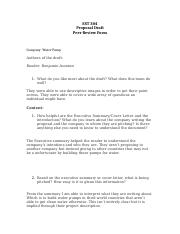 Peer Review-Proposal-5-Water Pump.docx