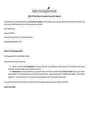 SNHU 107 Final Project II Academic Success Plan Template.docx