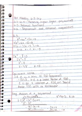 Chapter 6.3 - 6.6, degrees, functions and inequalities