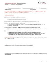 Freshman KnowB4U Go Checklist Fall-2
