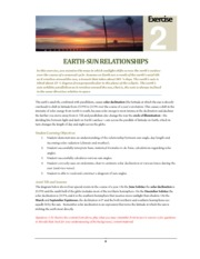 Lab2_Earth_Sun_Relations