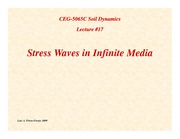 SD-Lecture17-Stress-Waves-in-Infinite-Media