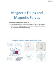 Lecture14 ch28 MagneticFields