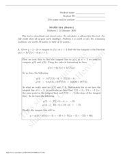 Midterm1 Solution
