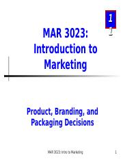 MAR3023_Chapter 11_Products