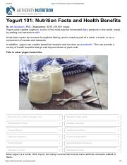 Yogurt 101_ Nutrition Facts and Health Benefits.pdf