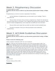 Weekly Discussions week 2&3.docx