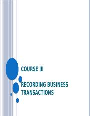 Course III_Recording transactions.pptx
