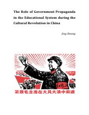 Cultural-Revolution-in-China-paper