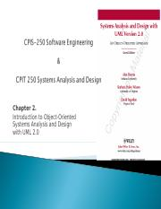 CPIS-250 Chapter2 Intr OO Systems Analysis and Design with UML2.ppt