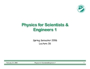 PHY183-Lecture26