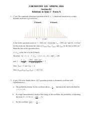 328 Quiz 2 Version 2 Solutions