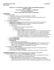 Vangilder Contracts Outline- Schmitz