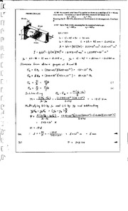 403_Mechanics Homework Mechanics of Materials Solution