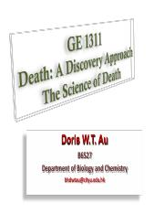Lecture on Cell death