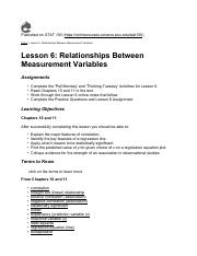 stat notes Lesson 6 Relationships Between Measurement Variables.pdf
