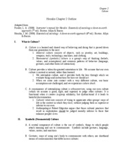 Ch. 2 Notes-Fall 2009
