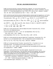 STAT 3401_SOLUTIONS_SECTION 2.9
