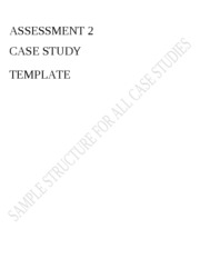 Case Study Structure Template