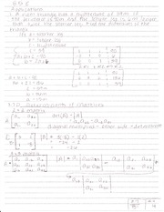 8.7D Determinants of Matrices